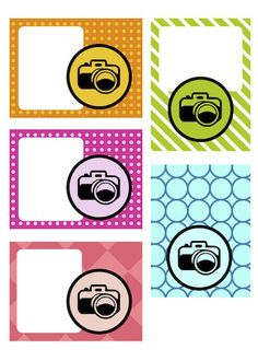 Free Fun Tags, Mini Cards & Digital Stamps for Project Life Project Life Freebies, Project Life Cards, Scrapbook Journal, Journal Cards, Camera Cards, Planners, Life Page, Pocket Scrapbooking, Pocket Letters