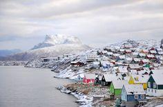 Greenland, so pretty