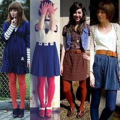 meias coloridas