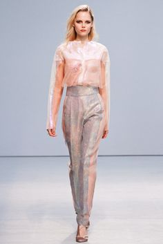 Anne Valérie Hash Spring 2013 Ready-to-Wear Fashion Show - Josefine Nielsen