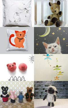 Animals by Aleksandra Florek on Etsy--Pinned with TreasuryPin.com