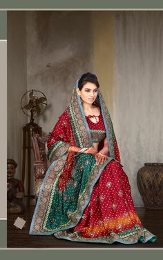 Rose Red Art Silk Saree
