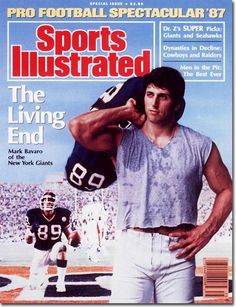 Because when Tebow takes a knee and offers a prayer, he mimics the man that went before him: Mark Bavaro.