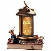 Disney Snowglobes Collectors Guide: Tinker Bell Lantern Snowglobe Peter Pan