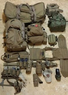 Seal recon load out Tactical Equipment, Tactical Bag, Survival Gear, Survival Shelter, Bug Out Gear, Battle Belt, Airsoft Gear, Combat Gear, Tac Gear