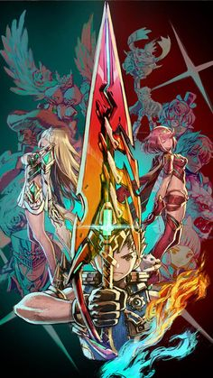 Xenoblade Chronicles 2 – My Company Xenoblade Chronicles 2, Valiant Force, Xeno Series, Middle Earth Shadow, Comic Manga, Mobile Wallpaper, Super Smash Bros, Looks Cool, Sketches