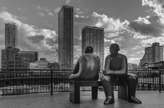 In this busy world we are so involved inside tall buildings that we don't have time to spend and say few words .. What a better way to tell a story using prop aptly positioned in front of tall sky scraper buildings  #clouds #beautiful #nikon #likeforlike #vsco  #nepali_instagrammers #monochrome #blackandwhite #nikonphotography #igerseurope #photography #travel #igersoftheday #london_enthusiast #mysecretlondon #londoncity #bestlondonpictures #toplondonphoto #canarywharf #igersuk #igers…