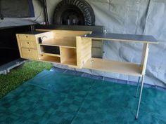 Drifta Swing Out camper kitchen