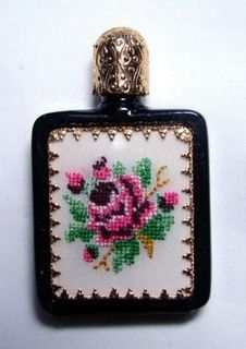 Made in Austria perfume bottle--Pat Seal Collection