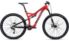 Welp, there it is. the perfect bike for O Red in the new era of mountain biking. 2014 Specialized Stumpjumper FSR Comp Carbon 29er. Size: XL. This paint job is the perfect amount of red.    My local cycle dealers tell me it'll be available in late sept '13
