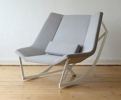 Romantic and Comfortable Rocking Chair by Markus Krauss