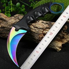 Jeslon CS GO Karambit Tactical Hunting Fixed Knife Combat Survival Neck Claw Knives Utility Camping Outdoor Pocket Rescue Tools  Price: 8.15 USD