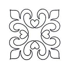Square hearts