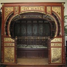 So freaking cool  Ancient Chinese Bed 50 off by Earthspiritsmineral on Etsy, $21000.00