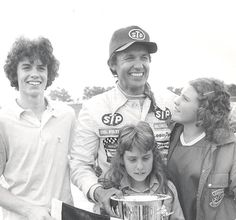 Love that picture. RT @amsupdates: #TBT A family celebration of Richard Petty's 1975 win @ Atlanta, incl @kylepetty!