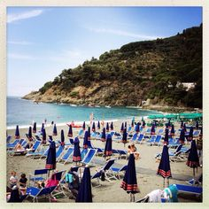 Bonassola favorite  beach summer www.caduferra.it Summer Beach, Dolores Park, Spaces, Travel, Viajes, Traveling, Tourism, Outdoor Travel