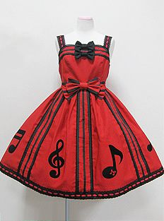 Red and black or pink and black! hmmm.....offbeat wedding dress?