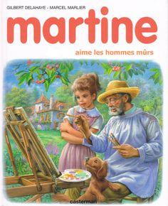 Martine aime les hommes mûrs
