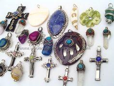 Assorted Peruvian Pendants  http://www.wholesaleperuvianjewelry.com
