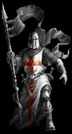 Virtues of a christian warrior Pin Christian Crusaders Warriors Fantasy Male, Fantasy Warrior, Knight In Shining Armor, Knight Armor, Medieval Knight, Medieval Fantasy, Crusader Knight, Christian Warrior, Armadura Medieval