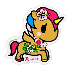 The Giant Peach - tokidoki - Unicorno Kaili Sticker, $2.00 (http://www.thegiantpeach.com/tokidoki-unicorno-kaili-sticker/)