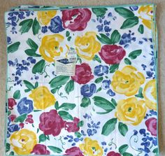 Floral Napkins Set of 8 by BonniesVintageAttic on Etsy, $40.00