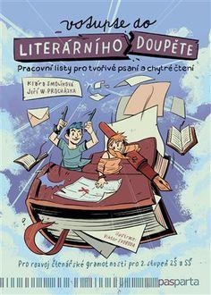 Nakupte knihy za dobré ceny v internetovém knihkupectví Kosmas.cz. Comic Books, Internet, Fantasy, Comics, School, Cover, Literatura, Cartoons, Fantasy Books