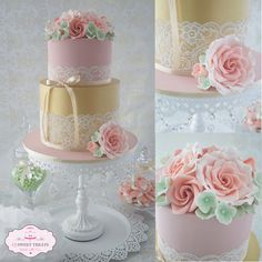 A birthday cake for me.... - by cjsweettreats @ CakesDecor.com - cake decorating website