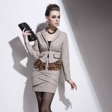 Counter genuine new business professional dress suit business wear suits suits women skirt suit