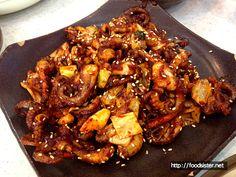 [용인수지] 본칼국수에서 먹은 쭈꾸미, 맵고 맛있다