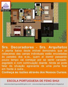 Escola Portuguesa de Feng Shui: CABECEIRA DA CAMA - Decoradores - Arquitetos Feng Shui Decorating, Bed Headboards, Architects, School, Laundry Room, Houses