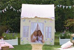 Jouet en tissu Win Green - Grand cottage de campagne en tissu
