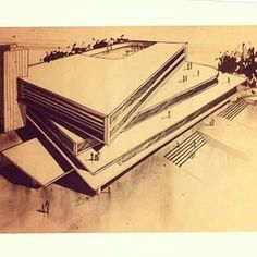 "1,212 Likes, 9 Comments - Sketch & Architecture platform (@sketch_arq) on Instagram: ""By @alieri__7 #sketch_arq #architecture #design #ideas #architecturestudent #アーキテクチャ #arquitectura…"""
