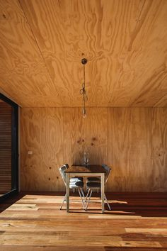 The Pump House by Branch Studio Architechts | THE ICONIST #wood #hut #cabin #interior design