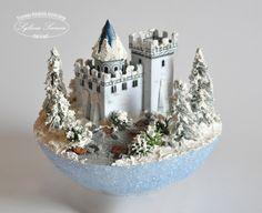 Bombki | Christmas Balls, Xmas, Christmas Ornaments, Glitter Houses, Paper Clay, Tim Holtz, Diorama, Snow Globes, Decoupage