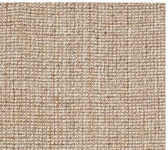 Chunky Wool & Jute Rug - Natural | Pottery Barn