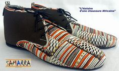 Get Ready For The Menswear Africa Print Shoes Revolution – See Various Styles Inside | FashionGHANA.com: 100% African Fashion