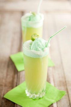 Lime Sherbet Punch by Paula Deen