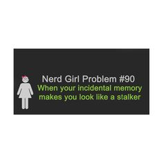 Nerd Girl Problems found on Polyvore