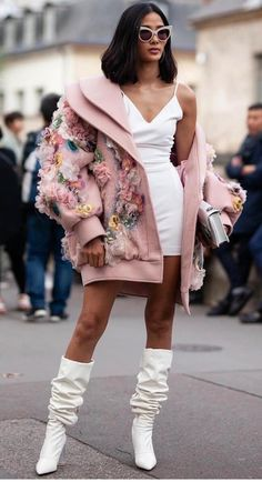 Part six: The best street style looks from Paris Fashion Week, Buro Buro Fashion Week, Look Fashion, Runway Fashion, High Fashion, Autumn Fashion, Fashion Outfits, Womens Fashion, Fashion Design, Fashion Trends