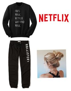 Chill day by mandel-ii on Polyvore featuring polyvore, fashion, style, Hollister Co. and clothing