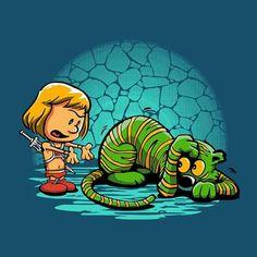Calvin and Hobbes He-Man and Krenger.