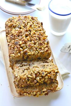 Carrot Banana Bread - an ultra moist and healthy gluten free treat.