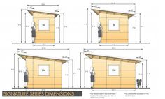 Prefab Backyard Studio & Home Office Sheds | Plan & Design Your Own Modern Custom Studio Shed