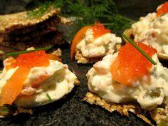 Tinskun keittiössä: Ihana lohiviettelys ja pienet siemenleipäset