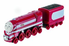 Fisher-Price Thomas the Train: Take-n-Play Caitlin. Connects to other engines and cars with magnet connectors either way. Compatible with Thomas & Friends Take-n-Play foldout sets. A durable die-cast engine. Great for on the go, Take-n-Play Fun. Great addition to any Thomas & Friends Collection.