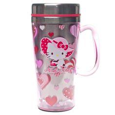 Hello Kitty Stainless Steel Travel Mug Sanrio Hello Kitty, Hello Kitty Haus, Hello Kitty Gifts, Hello Kitty Rooms, Hello Kitty Kitchen, Hello Kitty Themes, Hello Kitty Stuff, Hello Hello, Random House