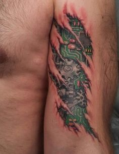 """""""upper arm biomech"""" - I know I'm more than gears and circuit boards, at least I think I must be ~:^o>"""