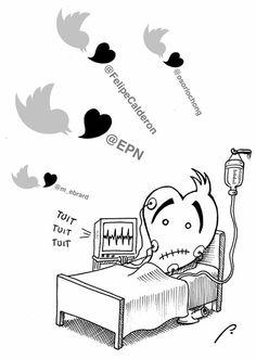 ¿Será cierto? En el cartón de Perujo: De Twitter pa' fuera | El Economista
