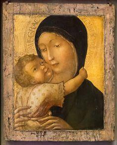 Liberale da Verona: Madonna con Bambino [Intorno al 1470, Lindenau Museum di Altenburg]